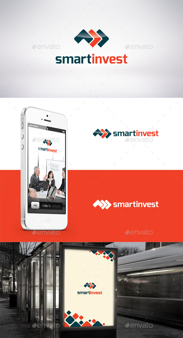 GraphicRiver Smart Invest Logo Template 9241586