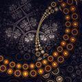 Dark fractal artwork, abstraction clockwork - PhotoDune Item for Sale