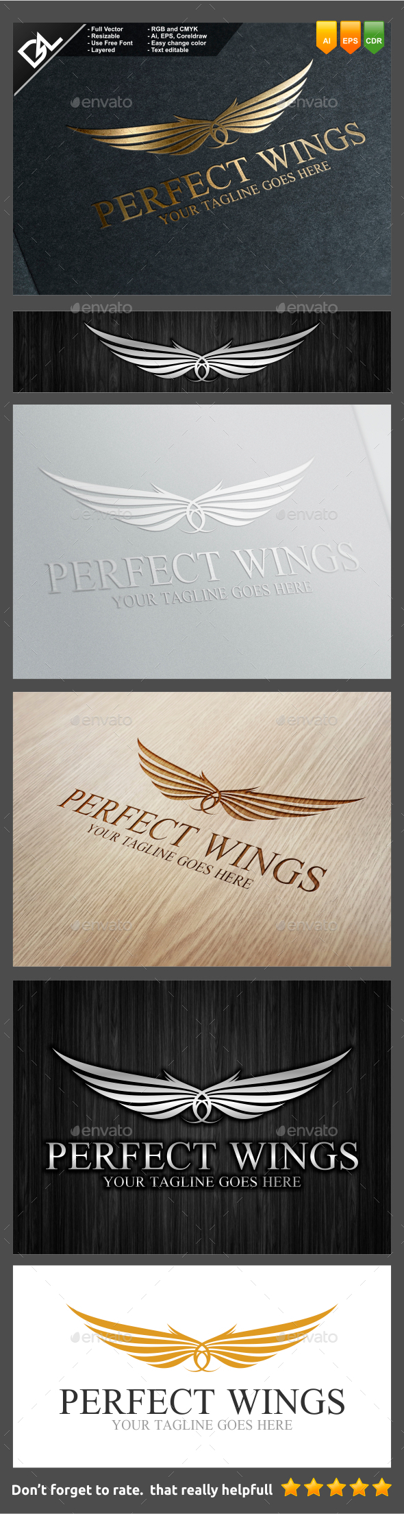 GraphicRiver Perfect Wings 9241734
