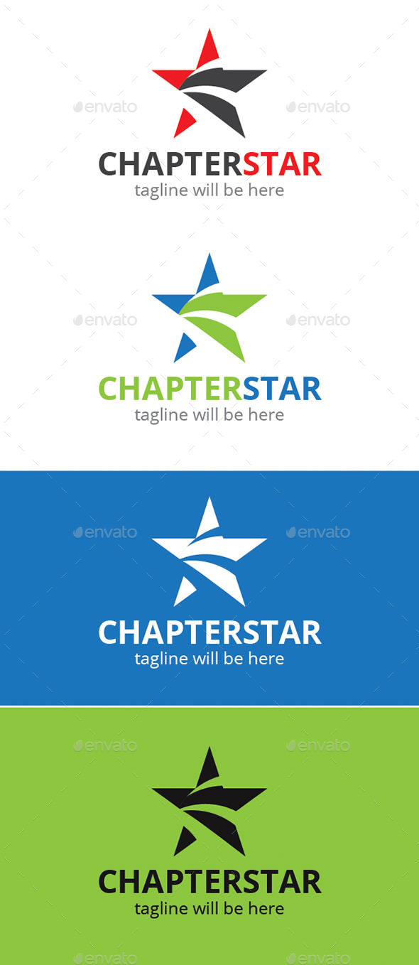 GraphicRiver Chapter Star Logo 9241820