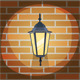 Lantern On The Wall - GraphicRiver Item for Sale