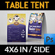 Cafe and Restaurant Table Tent Vol.3 - GraphicRiver Item for Sale