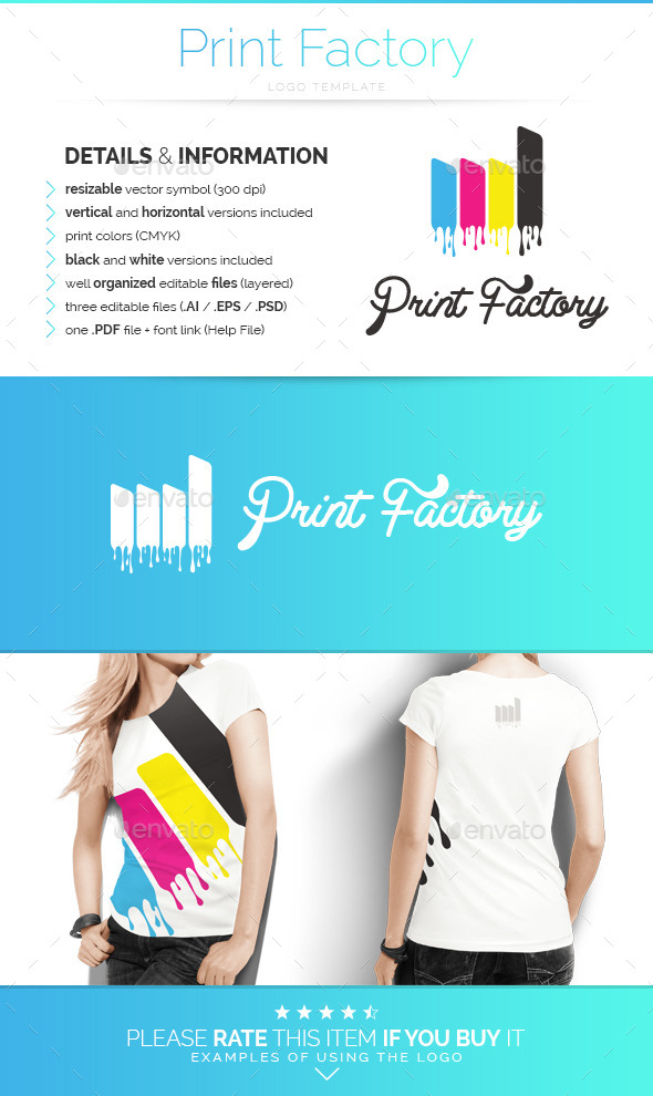 GraphicRiver Print Factory Logo Template 9242537