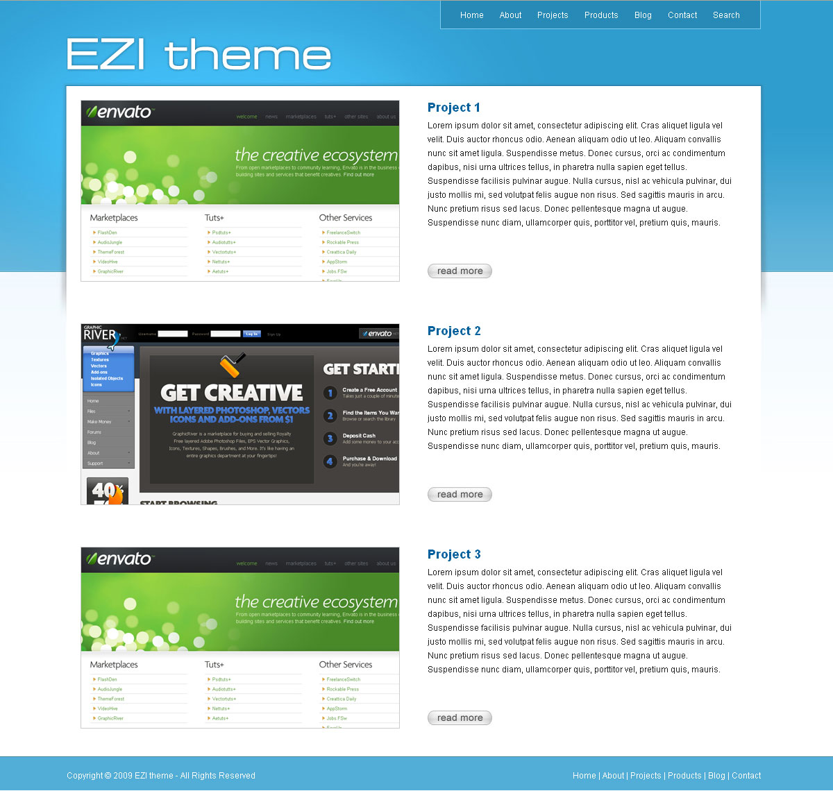EZI theme -  EZI theme