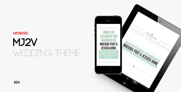ThemeForest MJ2V Wedding Theme 9121138