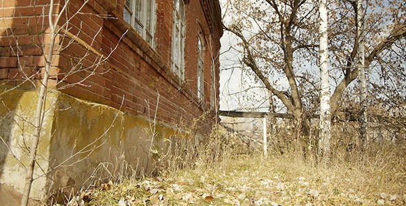 Abandoned Red Brick Building 18