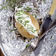 baked potato with creme fraiche and chives - PhotoDune Item for Sale