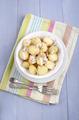 organic baby potatoes chopped radish - PhotoDune Item for Sale