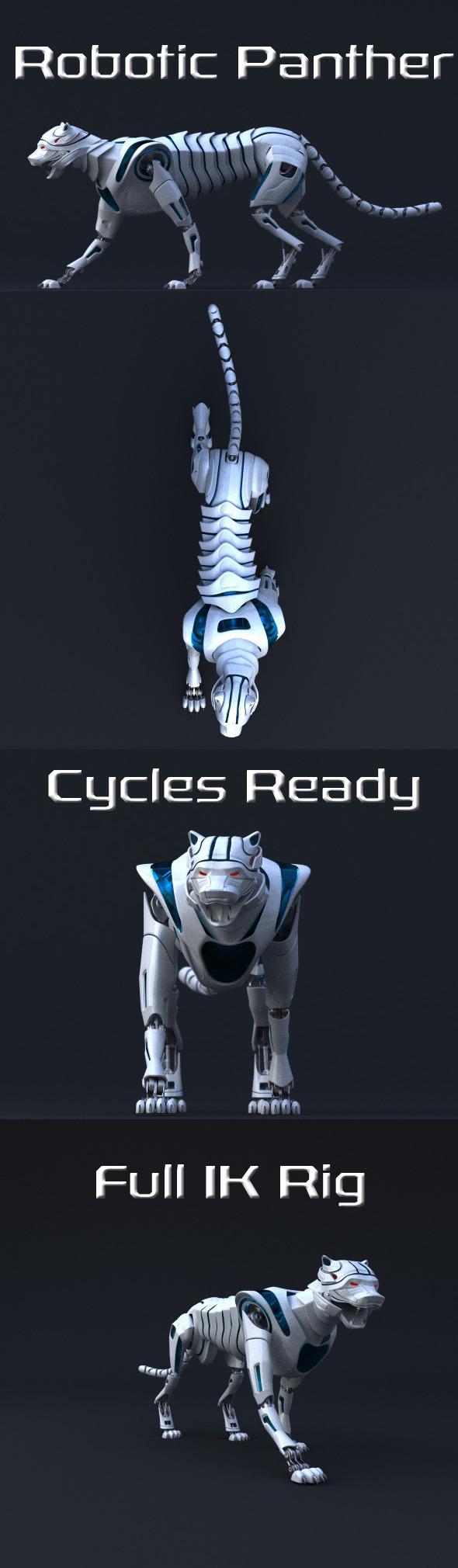 3DOcean Robotic Panther 9244149