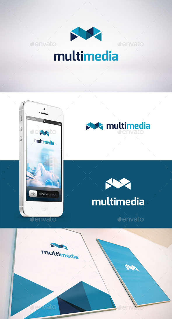 GraphicRiver Multi Media Logo Template 9244677