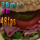 Sandwich Slim Bread And Apple Slices - VideoHive Item for Sale