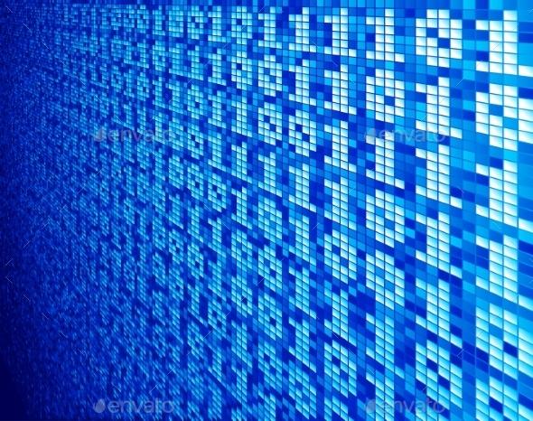GraphicRiver Binary Code 9244725