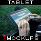 Photorealistic Tablet With Female Hands Mock-Up V1 - GraphicRiver Item for Sale