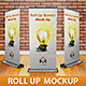 Roll-Up Banner Mockup - GraphicRiver Item for Sale