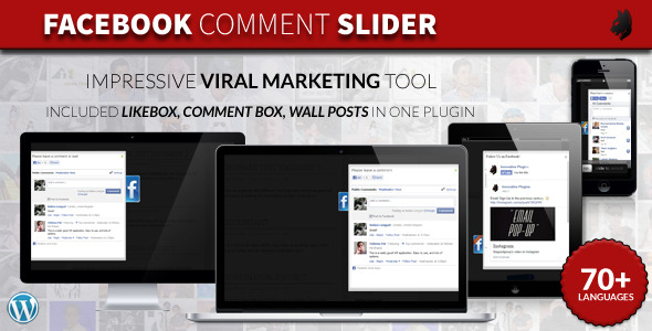 Facebook Comment Slider for WordPress