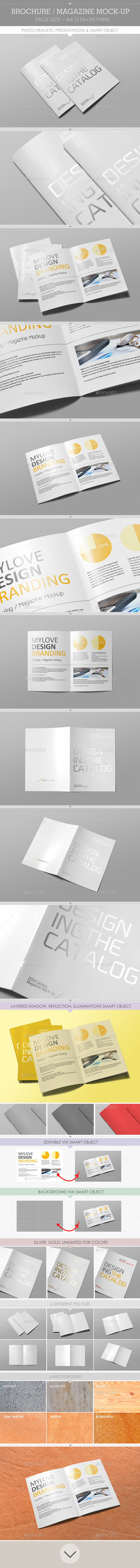 GraphicRiver Catalog Magazine Mock-Up 9249635