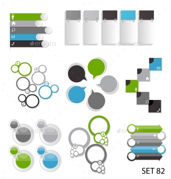 GraphicRiver Infographic Templates for Business 9249643