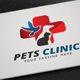 Pets Clinic Logo - GraphicRiver Item for Sale
