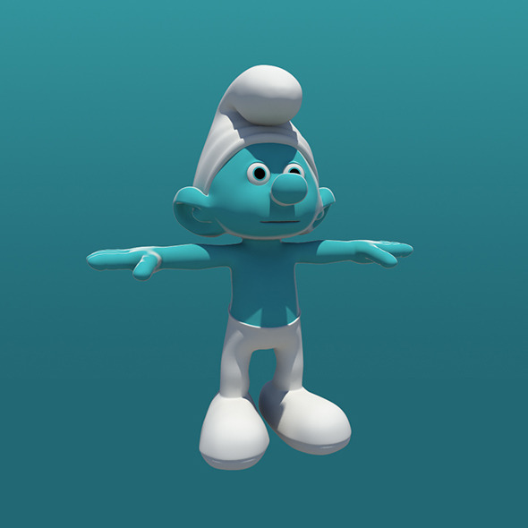 smurfs - 3DOcean Item for Sale