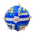 Homemade blue Christmas ball - PhotoDune Item for Sale