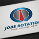 Jobs Rotation Logo - GraphicRiver Item for Sale