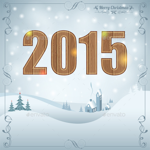 GraphicRiver New Year Background 9250701