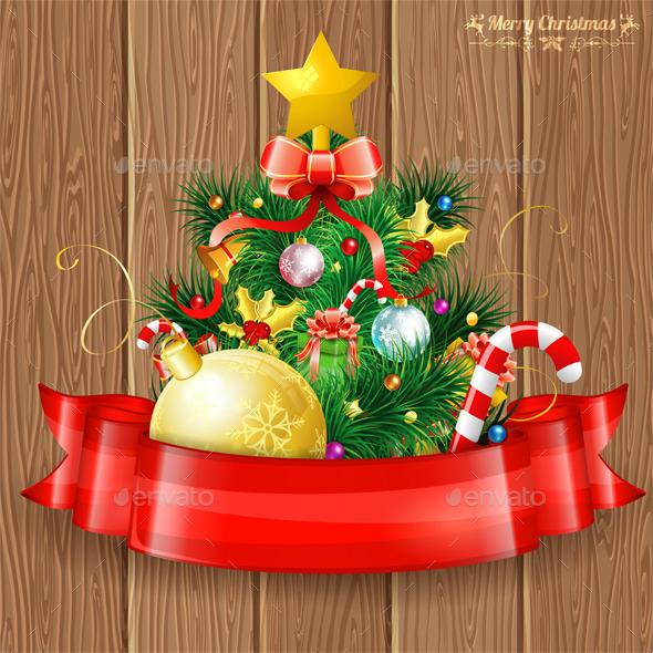 GraphicRiver Christmas Tree 9250745