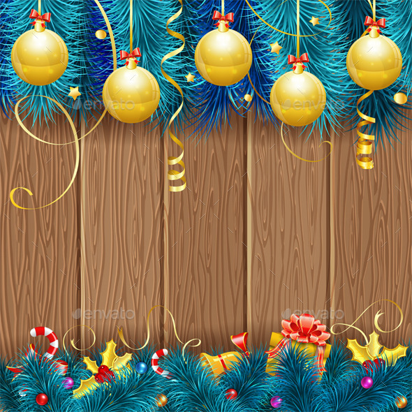 GraphicRiver Christmas Frame 9250746