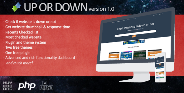 CodeCanyon Up or down script- Check if website is down or not 9251187