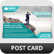 Corporate Postcard Template Vol 6 - GraphicRiver Item for Sale