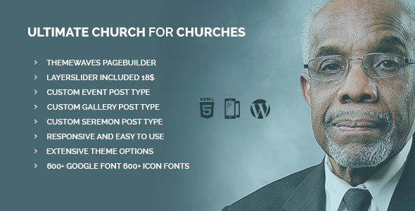 Ultimate Church   Business Template for Churches