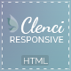 Clenci Responsive HTML Template - ThemeForest Item for Sale