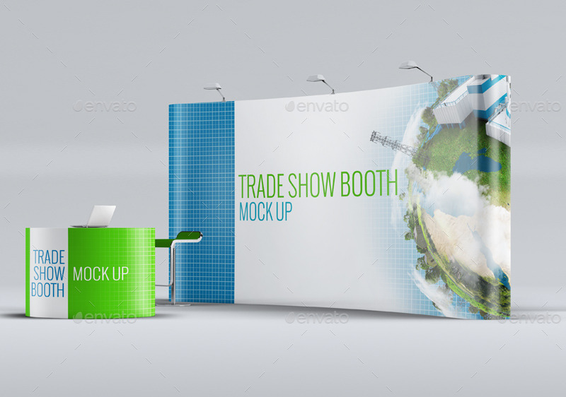 Exhibition Booth Mock Up : Trade show booth mock up by l design graphicriver