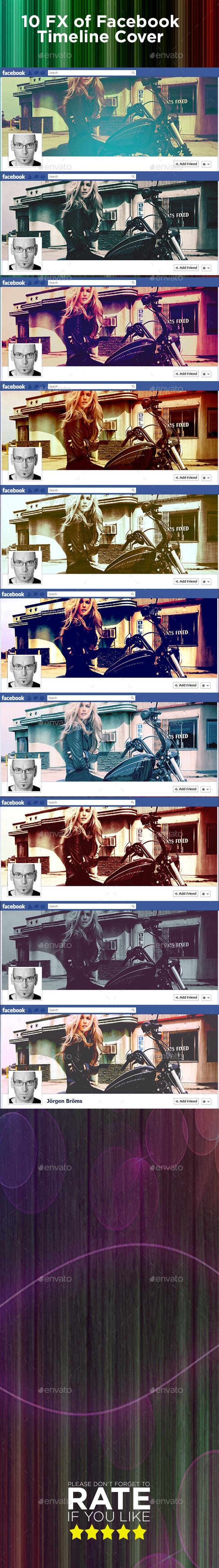 GraphicRiver 10 PhotoFX Facebook Timeline Cover 9253143