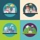Flat Design Ecology Concept Illustration - GraphicRiver Item for Sale