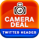 Camera & Photography Twitter Header - GraphicRiver Item for Sale