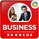 Corporate Web Banner Design Set - GraphicRiver Item for Sale