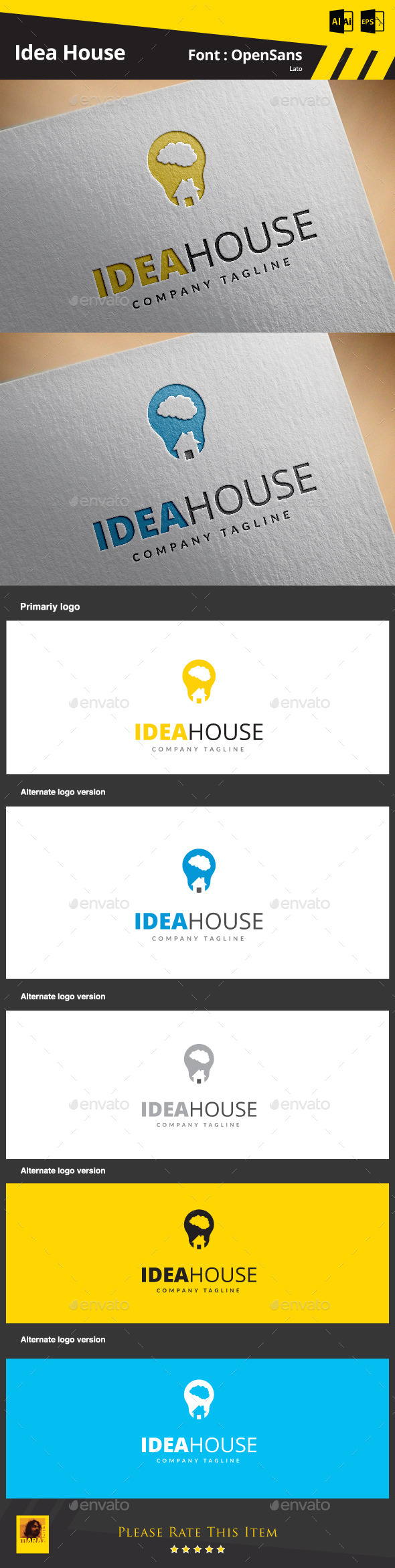 GraphicRiver Idea House 9214159