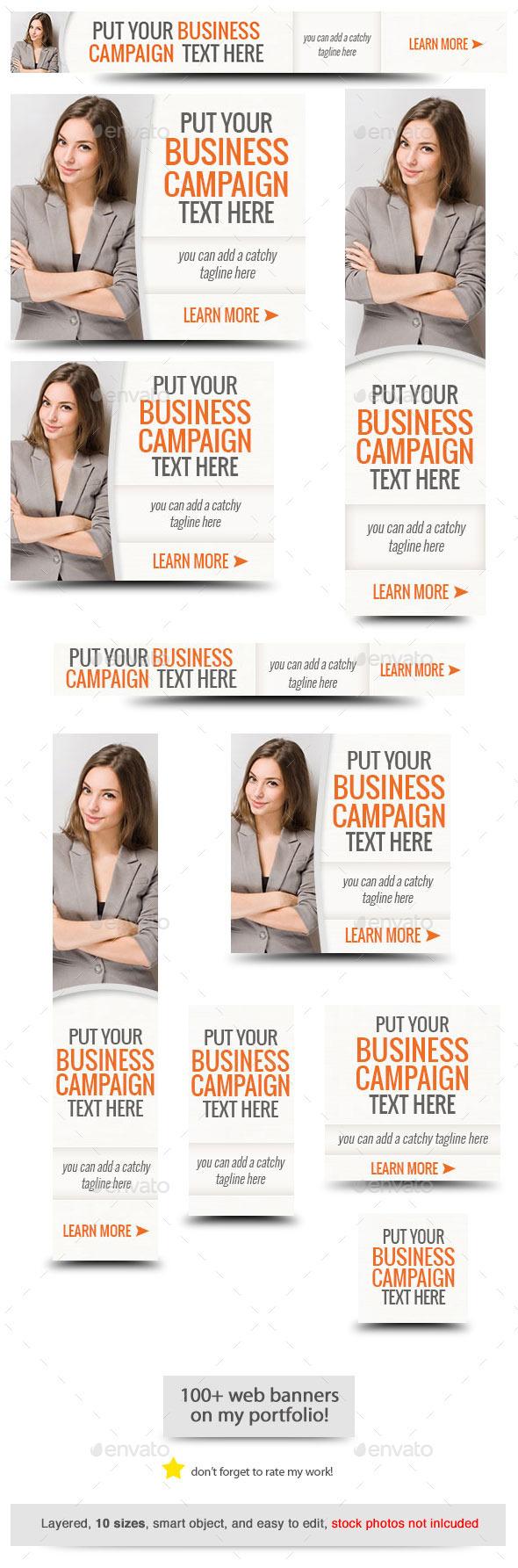 GraphicRiver Corporate Web Banner Design Template 53 9253290