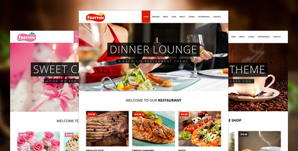 ThemeForest Frattini A Premium Restaurant Cakes and Coffee Shop Template 9219341