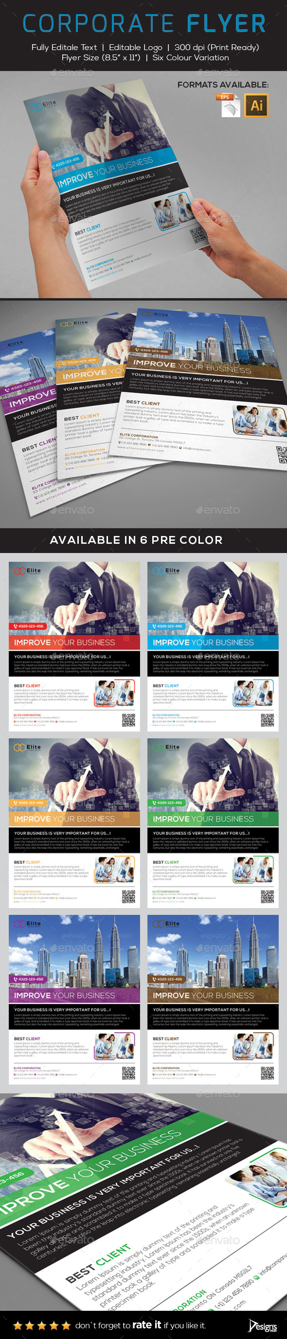 GraphicRiver Flyer Multipurpose Business Flyer 2 9253679
