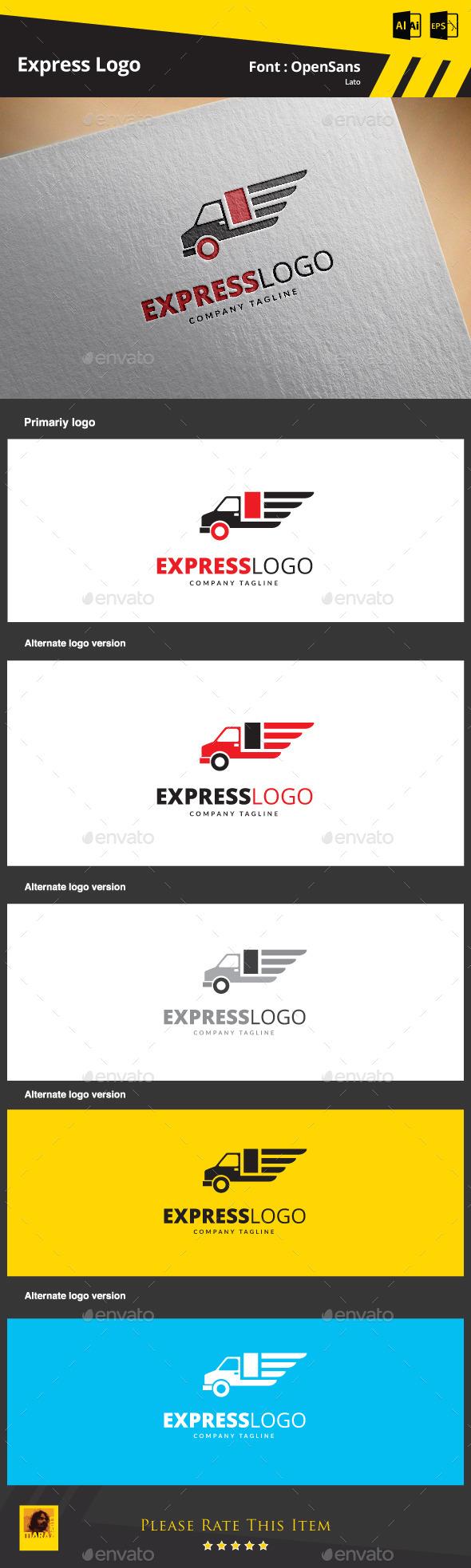 GraphicRiver Express Logo 9253891