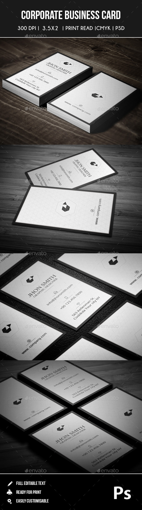 GraphicRiver Corporate Business Card 03 9201912