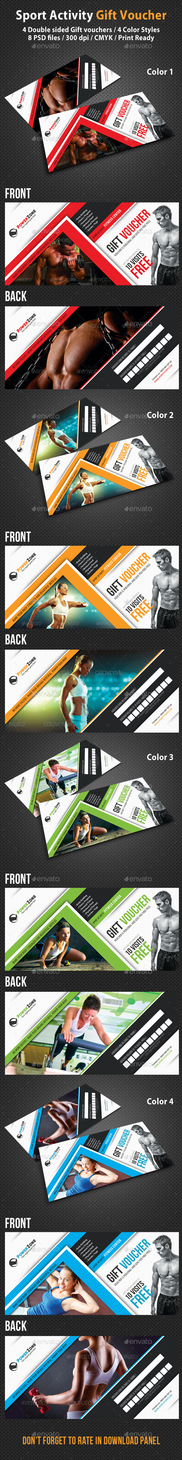 GraphicRiver Sport Activity Gift Voucher 02 9254047
