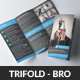 Corporate Business Trifold Brochure PSD Template - GraphicRiver Item for Sale