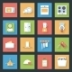 Kitchen Flat Icons Set - GraphicRiver Item for Sale