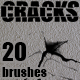 Cracks - 20pcs. Brush Set - GraphicRiver Item for Sale