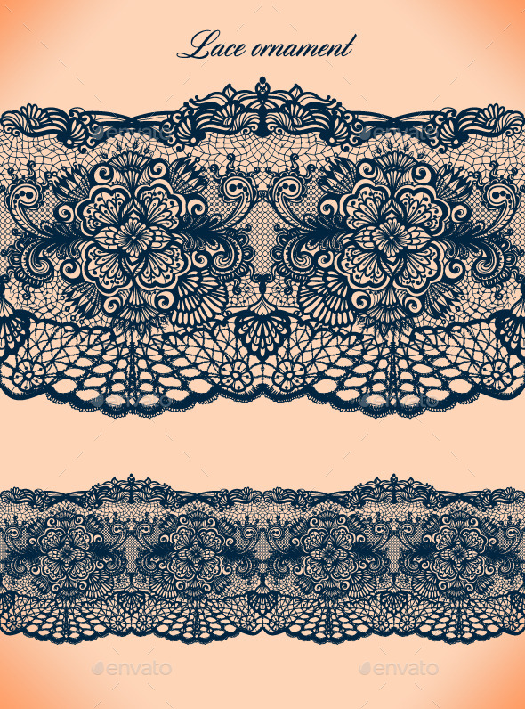 GraphicRiver Lace Ornament 9254404
