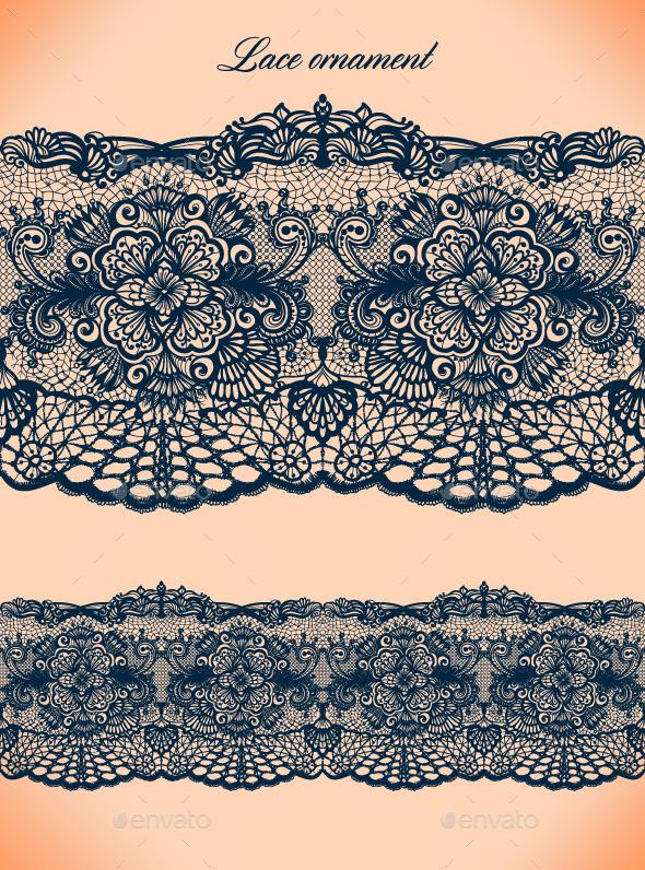 GraphicRiver Lace Ornament 9254404