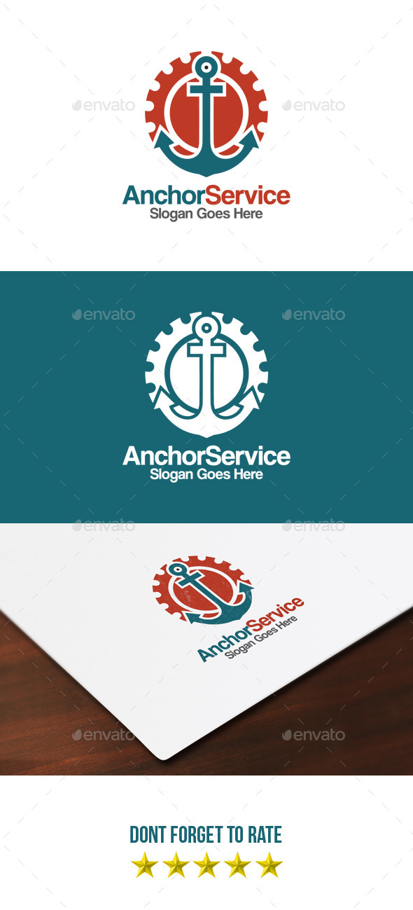 GraphicRiver Anchor Service Logo 9254429